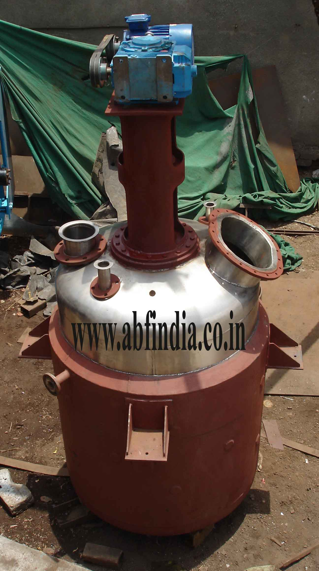 Stainless Steel jacketed Reaction Vessel Manfacturer